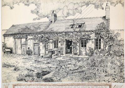 Bauernhaus in der Bourgogne