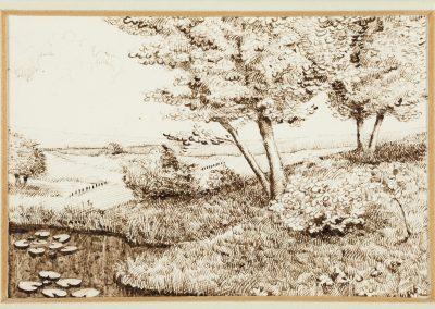 Landschaft in der Bourgogne
